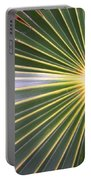 Silver Palm  Portable Battery Charger