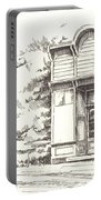 Silver Plume Ghost Town Colorado Portable Battery Charger