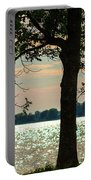 Silvery Sunset Portable Battery Charger