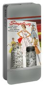 Simplicity Vintage Sewing Pattern - Color Portable Battery Charger