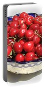 Simply A Bowl Of Cherries Portable Battery Charger