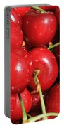 Simply Cherries  Portable Battery Charger by Carol Groenen