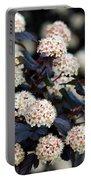 Summer Wine Ninebark Blossom Portable Battery Charger