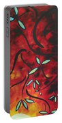Simply Glorious 1 By Madart Portable Battery Charger by Megan Duncanson