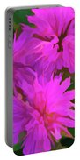 Simply Soft Pink Petals Portable Battery Charger