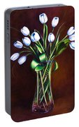 Simply Tulips Portable Battery Charger by Shannon Grissom