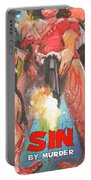 Sin By Murder Poster B Portable Battery Charger