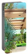 Sinatra Patio Palm Springs Portable Battery Charger