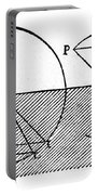 Sine Law Of Refraction, Descartes, 1637 Portable Battery Charger