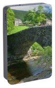 Single Arch Stone Bridge - P4a16018 Portable Battery Charger