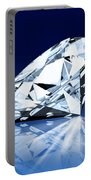 Single Blue Diamond Portable Battery Charger