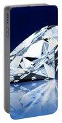 Single Blue Diamond Portable Battery Charger