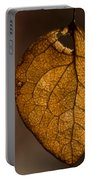 Single Fall Leaf Portable Battery Charger