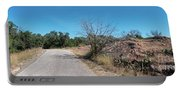 Single Lane Road In The Hill Country Portable Battery Charger