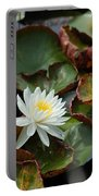 Single Water Lilly  Portable Battery Charger