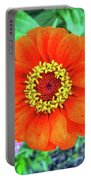 Single Zinnia Portable Battery Charger