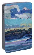 Singleton Solstice Stratocumulus Portable Battery Charger by Phil Chadwick