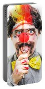 Sinister Clown Portable Battery Charger