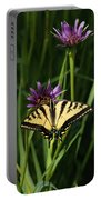 Sipping Flowers Portable Battery Charger