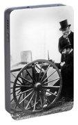 Sir Hiram Stevens Maxim Portable Battery Charger