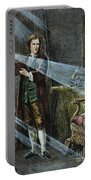 Sir Isaac Newton Portable Battery Charger