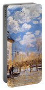 Sisley: Flood, 1876 Portable Battery Charger