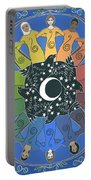 Sister Circle Portable Battery Charger by Karen MacKenzie