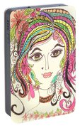 Sisterhood Of The Doodling Pens 5 Portable Battery Charger