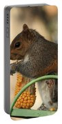 Sitting Squirrel Portable Battery Charger
