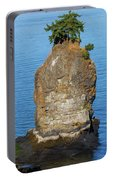Siwash Rock By Stanley Park Portable Battery Charger
