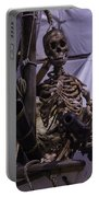 Skeleton With Bow Canon Portable Battery Charger