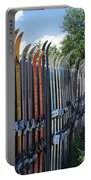 Ski Fence Portable Battery Charger