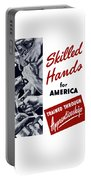 Skilled Hands For America Portable Battery Charger