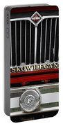 Skowhegan Maine Firetruck Grill Portable Battery Charger