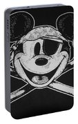 Skull And Bones Mickey  Portable Battery Charger