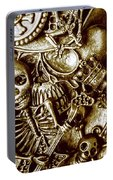 Skull And Cross Bone Treasure Portable Battery Charger