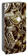 Skull And Cross Bone Treasure Portable Battery Charger