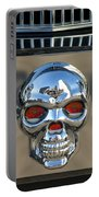 Skull License Plate Portable Battery Charger