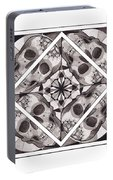 Skull Mandala Series Number Two Portable Battery Charger