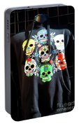 Skull T Shirts Day Of The Dead  Portable Battery Charger