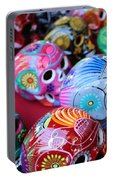 Skulls Day Of The Dead  Portable Battery Charger