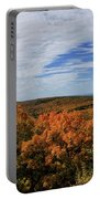 Sky And Trees Portable Battery Charger