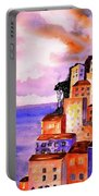 Sky At Dusk  Portable Battery Charger
