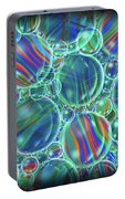 Sky Blue Marbles Portable Battery Charger