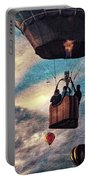Sky Caravan Hot Air Balloons Portable Battery Charger