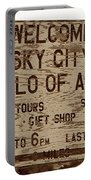 Sky City Sign Portable Battery Charger
