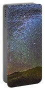 Skygazer Standing Under The Stars Portable Battery Charger