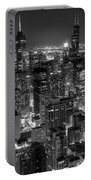 Skyscrapers Of Chicago Portable Battery Charger