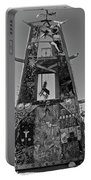 Slab City Museum Tower Bw Portable Battery Charger