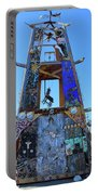 Slab City Museum Tower Portable Battery Charger